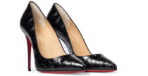 Le decolletes Pigalle Follies di Louboutin in cocco