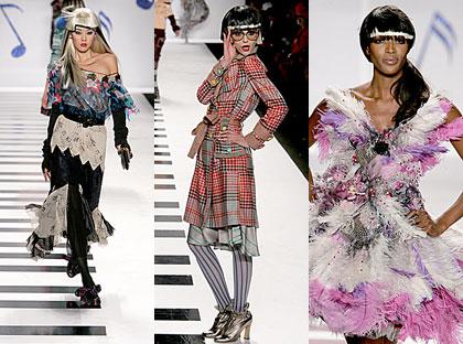New York Fashion Week – Heatherette Show con Naomi Campbell e Amanda Lepore