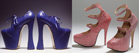 new product 9e09c 56d1b Le scarpe di Vivienne Westwood in mostra a Vigevano   Very Cool!
