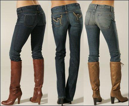 Come indossare jeans dentro gli stivali
