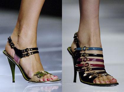 Scarpe Louis Vuitton. Collezione primavera 2006