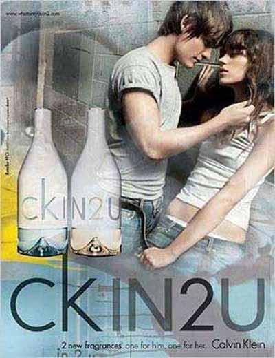 CKin2U il nuovo profumo di Calvin Klein