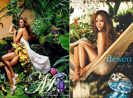 Jennifer Lopez e Mariah Carey