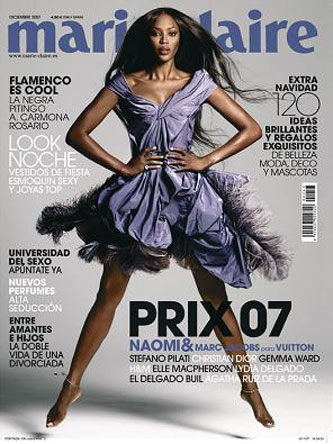 Marie Claire Naomi Campbell