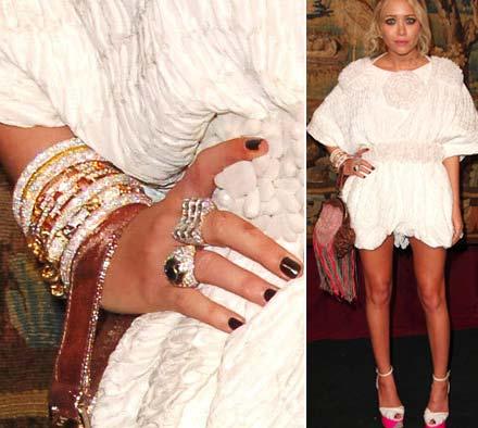 Mary Kate Olsen gioielli