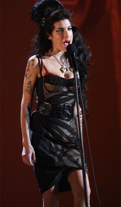 Amy Winehouse Brit Awards