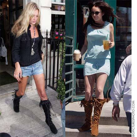Kate Moss Lindsay Lohan