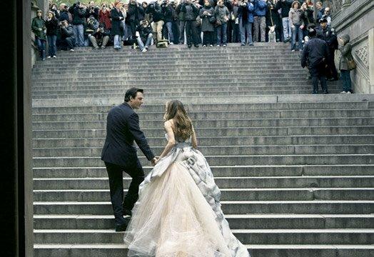 Carrie in Dolce e Gabbana