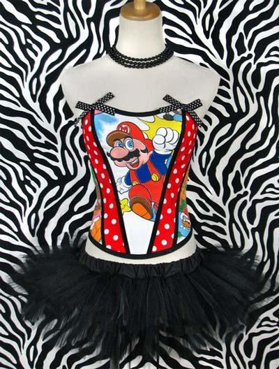 corsetto Super Mario