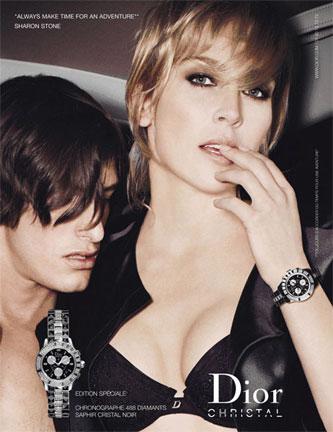 Sharon Stone Dior