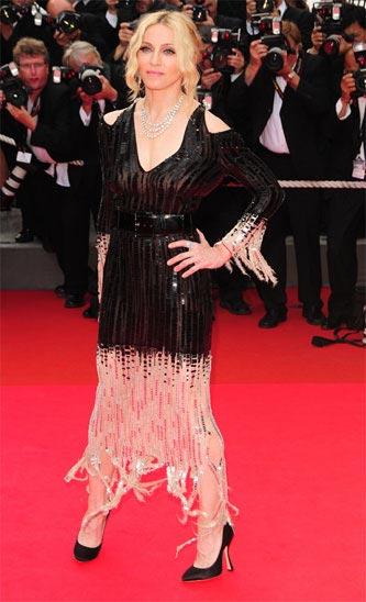 Madonna Cannes 2008