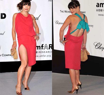 Mila Jovovich Cannes 2008