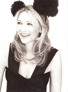 Cate Blanchett sul numero di gennaio di Vogue UK