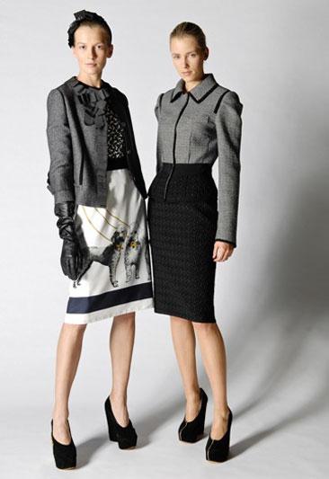 Modelli della collezione Inverno 2009 Dolce & Gabbana