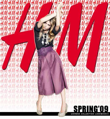 H&M collezione primavera estate 2009