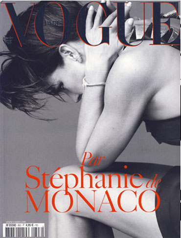 Stephanie di Monaco su Vogue