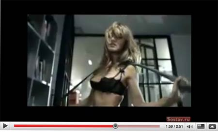 Lo spot di Agent Provocateur con Rosie Huntington-Whiteley