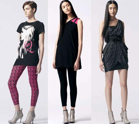 Altri 3 modelli della collezione Alexander McQueen per Target