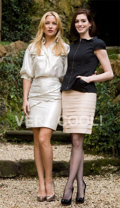 Kate Hudson e Anne Athaway