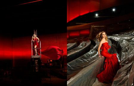 Scarlett Johansson Donna Karan Carolina Herrera