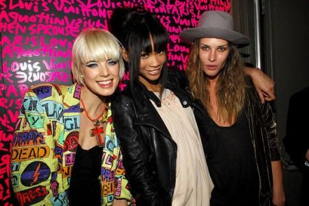 Louis Vuitton Sprouse party
