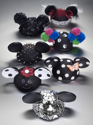 Mickey Mouse ears designer
