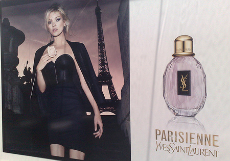 Kate Moss YSL Paris