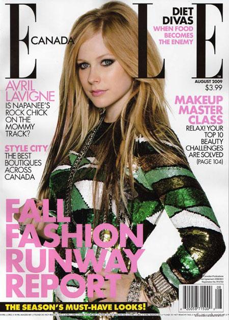 Avril Lavigne Elle Canada