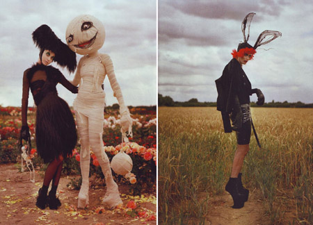 Tim Burton Harpers Bazaar