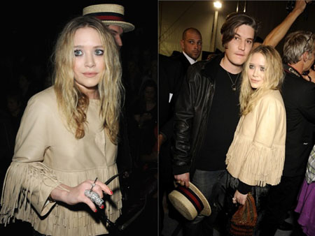 Mary Kate Olsen front row