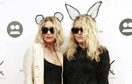 orecchie Maison Michel gemelle Olsen
