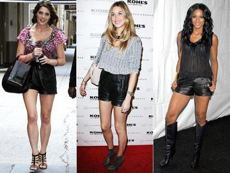 34e5a08237c969 Tendenze autunno inverno 2009-2010 shorts di pelle | Very Cool!