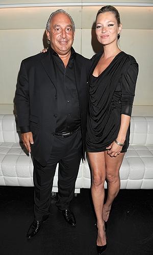 Topshop Philip Green Kate Moss
