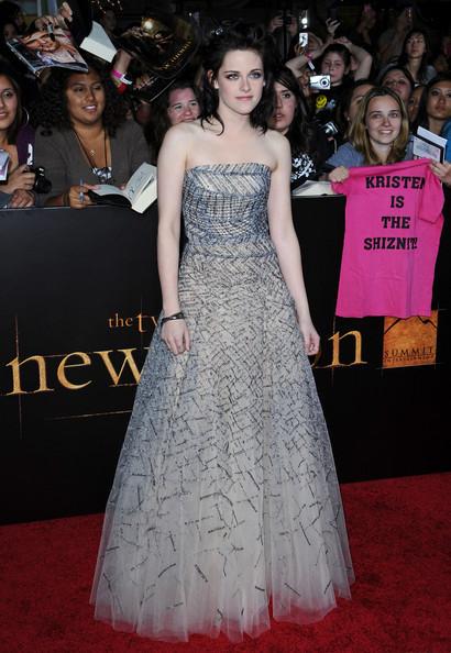 Kristen Stewart Oscar de la Renta New Moon premiere
