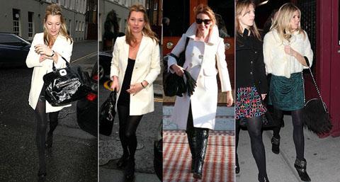 tendenza cappotto bianco