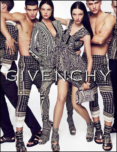 Givenchy adv 2010 Mariacarla Boscono Natalia Vodianova