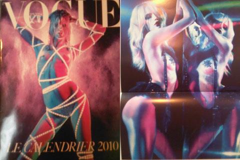 Calendario 2010 Vogue Paris