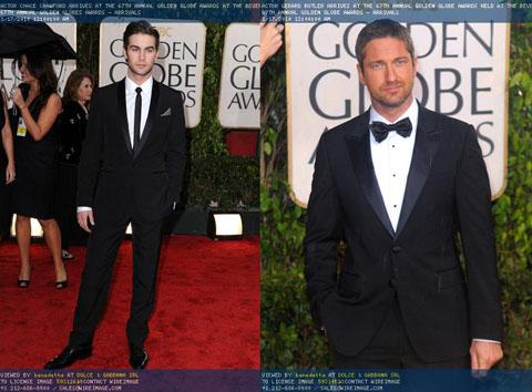 Golden Globes 2010 uomini in Dolce e Gabbana