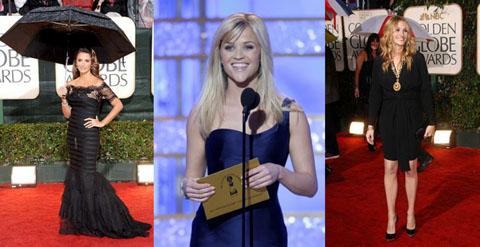 Golden Globes 2010 Penelope Cruz Reese Whiterspoon Julia Roberts
