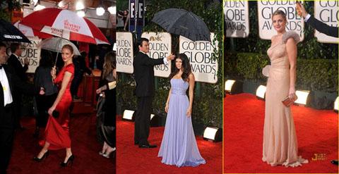 Golden Globes 2010 Cameron Diaz Fergie Drew Barrymore