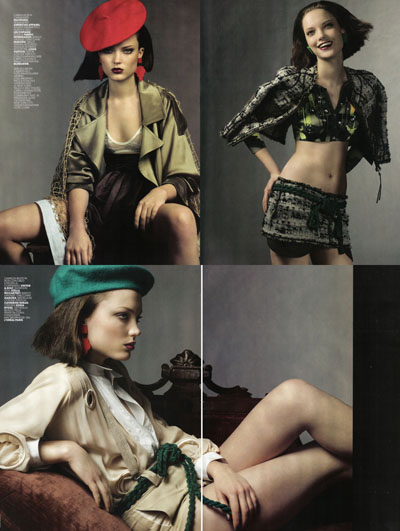 Marie Claire military