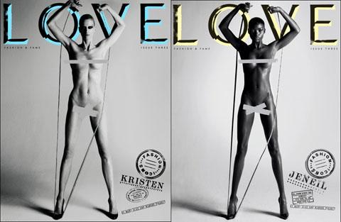 Love Magazine Kristen McMenamy Jeneil Williams