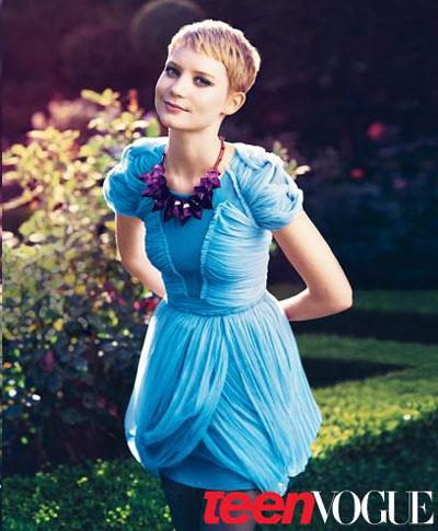 Teen Vogue Mia Wasikowska