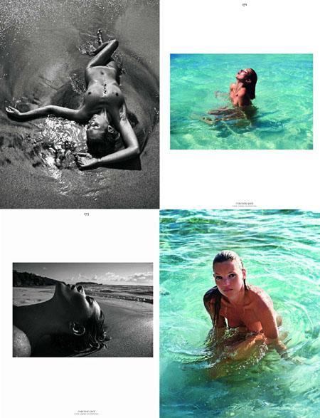 Kate Moss Vogue Hommes International