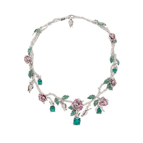 Dior Joallerie collier Bois de Rose