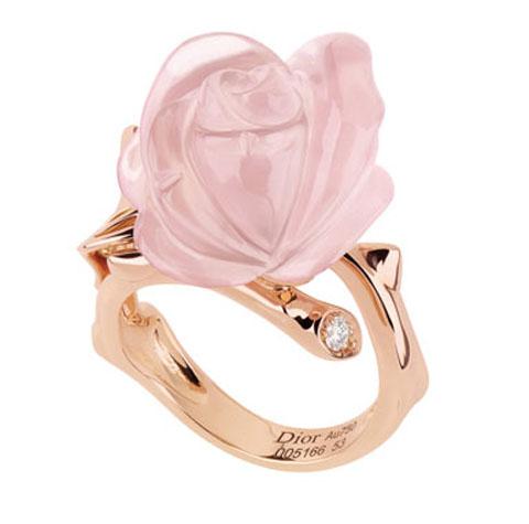 Dior Joallerie rose ring