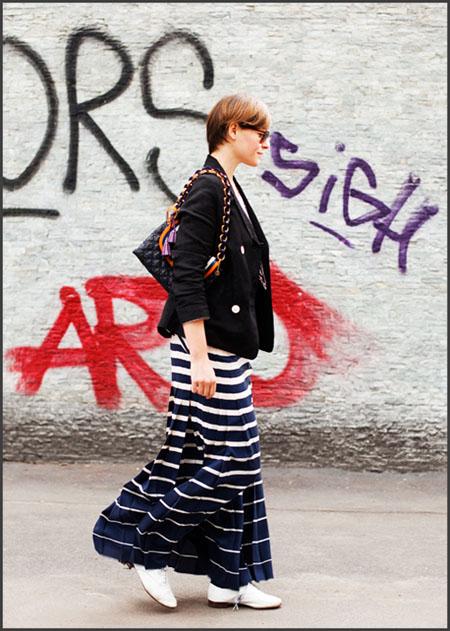 Elisa Nalin stripes