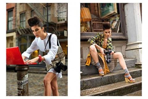 Garance Dorè Vogue editorial