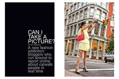 Garance Dore editorial Vogue