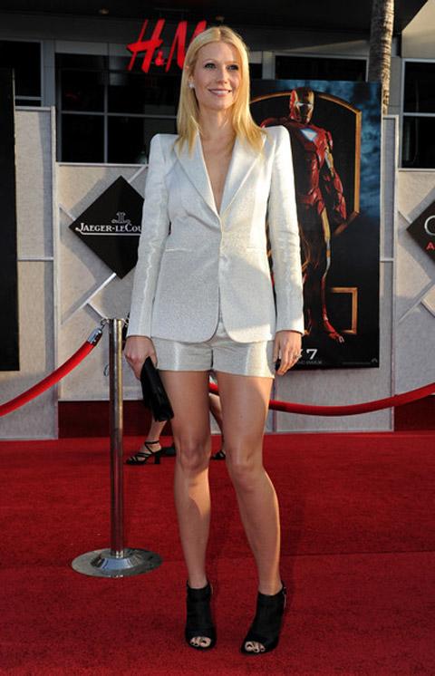Gwyneth Paltrow Armani Privè suit